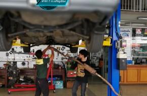#Toyota #Corolla ใช้งานกันมานาน ถึงเวลาบำรุงรักษา #แซมซ่อมท่อไอเสีย