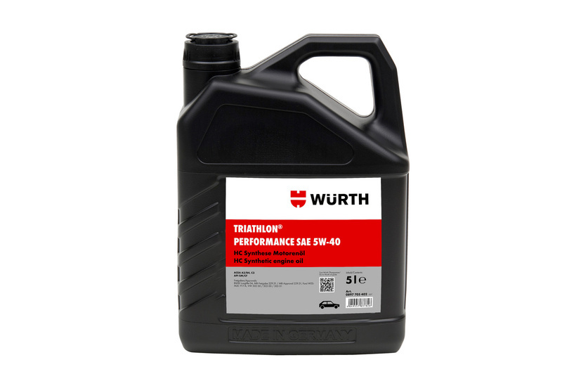 TRIATHLON® ENGINE OIL PERFORMANCE 5W-40